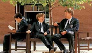 Ученики школы в Британии.