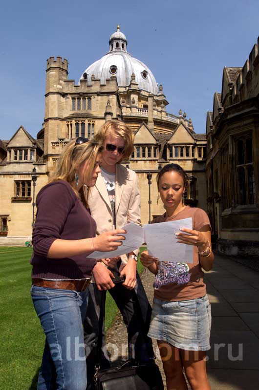 Студенты Oxford Tutorial College