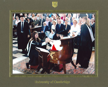 Алина Васькина – University of Cambridge, Christ's College (BA Hons (Cantab), Social and Political Sciences)