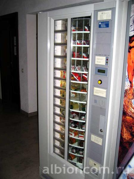 Летние школы в Швейцарии.  TASIS - автоматы с напитками.